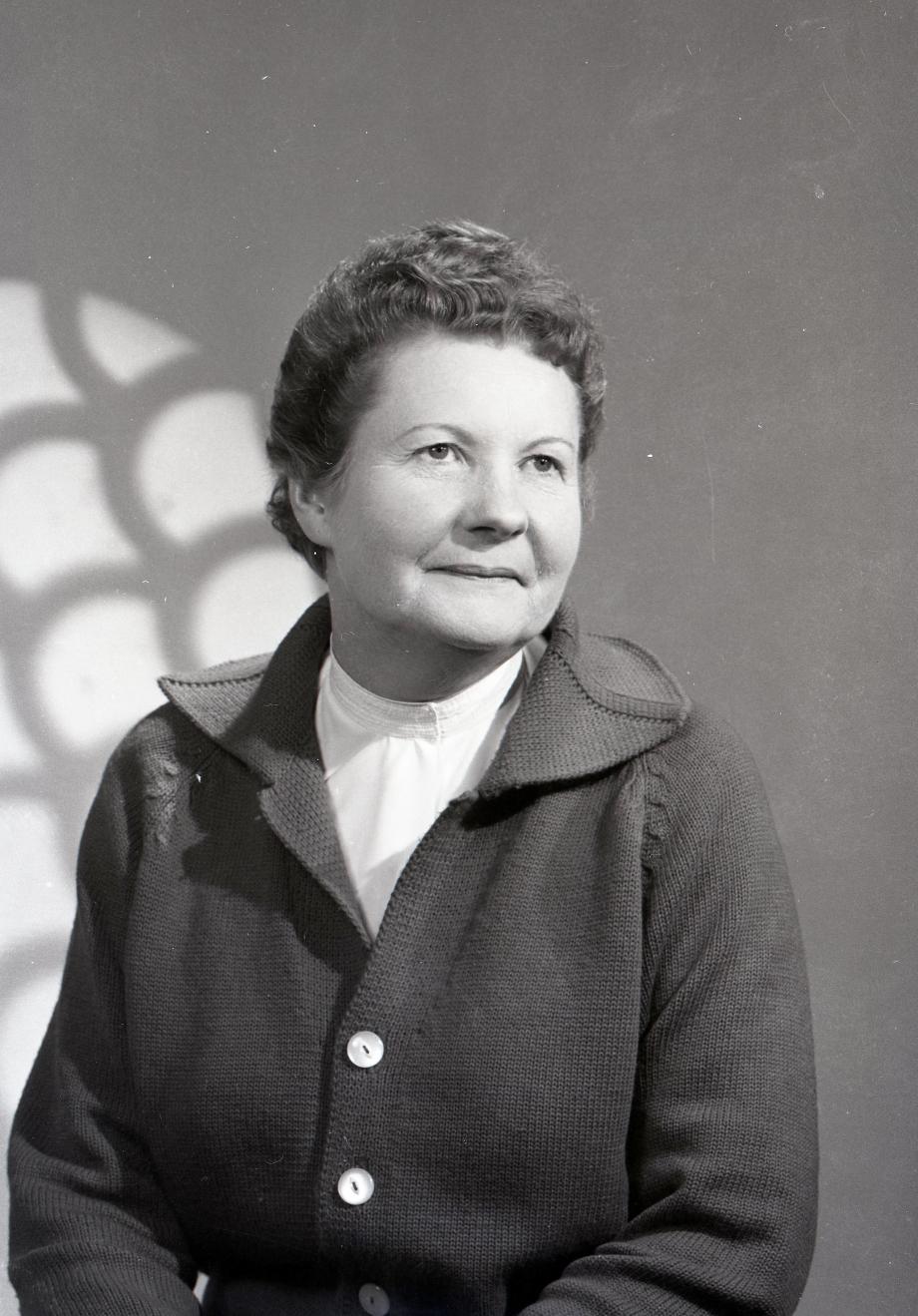 Jeanne STANCHINA née AUFRERE (1912/1970) Coll. Éric DORÉ