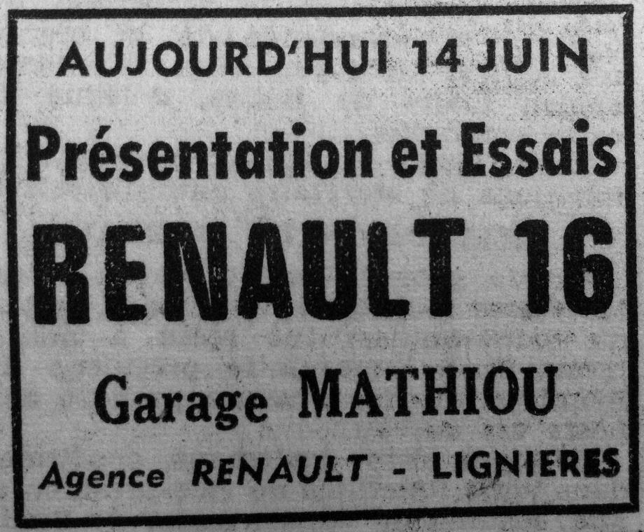 Berry-Républicain - 14/06/1965