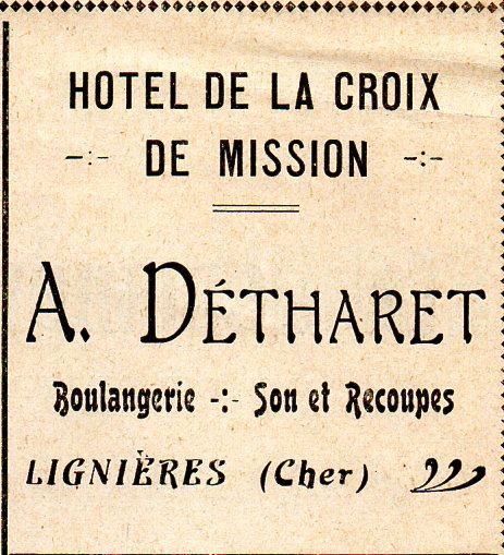 Publicité - 1924