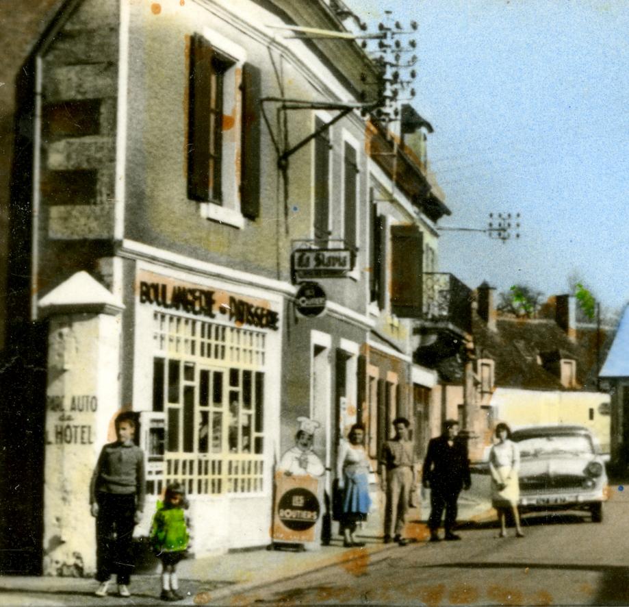 Détail de carte-postale -  Vers 1960