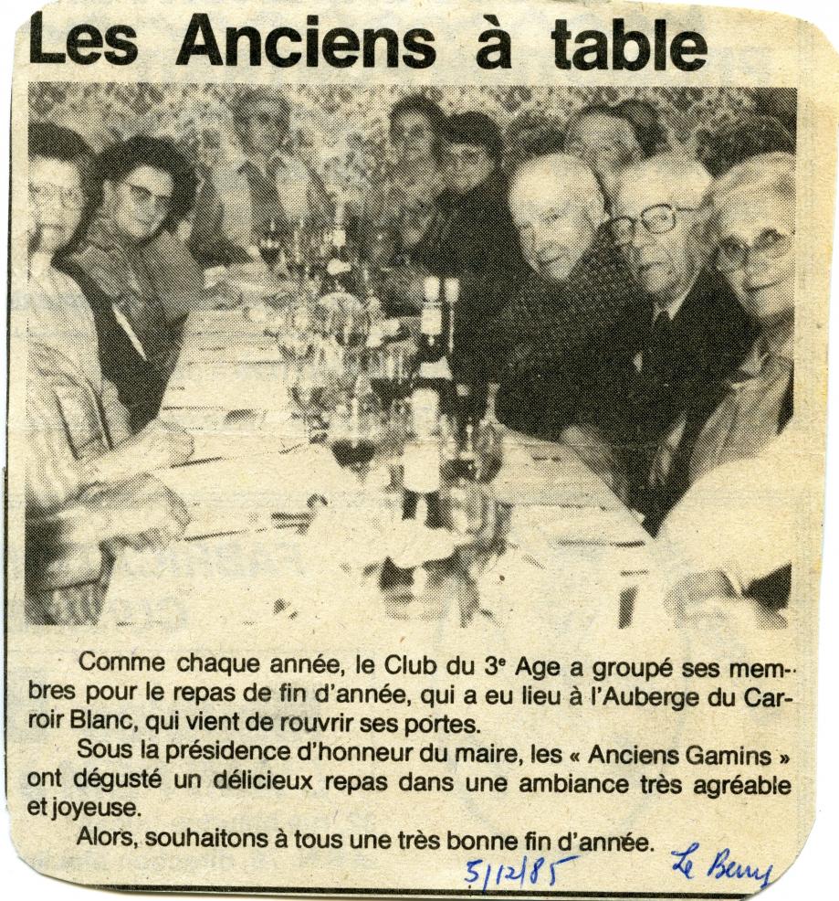Berry-Républicain du 05/12/1985