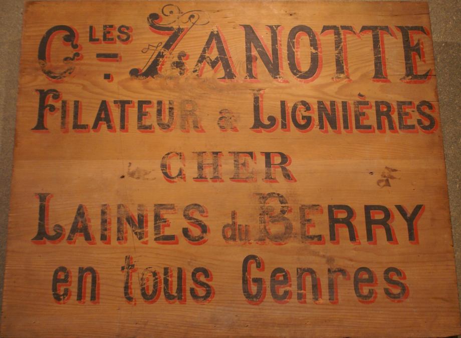 Panneau/enseigne Coll. Les Thiaulins de Lignières