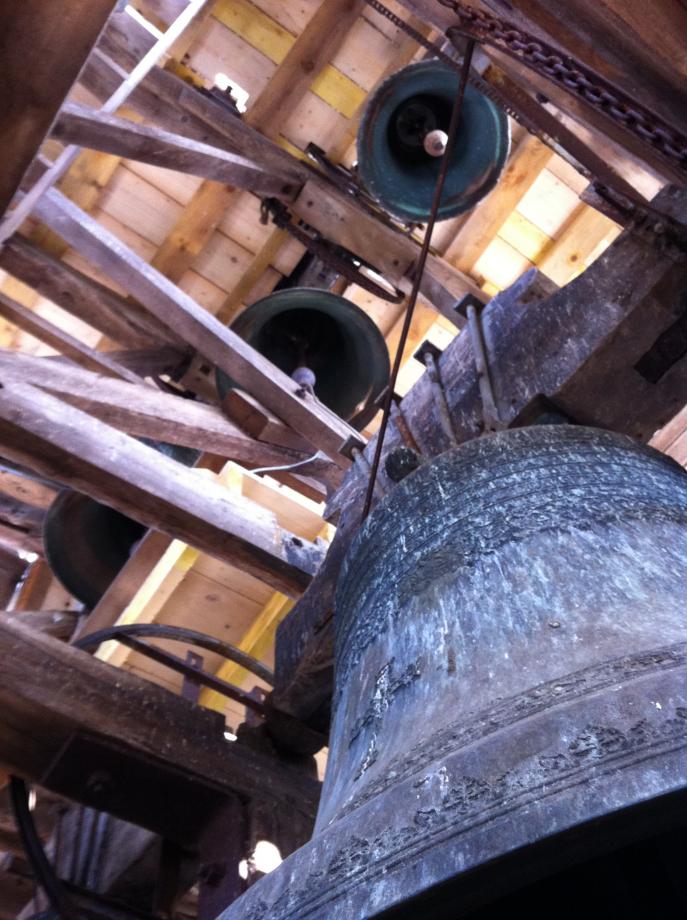L'ensemble campanaire de Lignières photographié en 2014 !