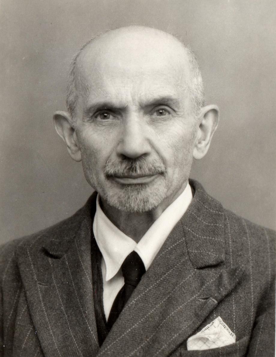 Philibert LAUTISSIER (1870/1962), maire de Lignières de 1932 à 1959. Coll. Claude ROGER