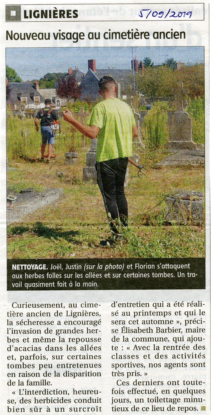 Des nouvelles...de notre cimetière Saint-Blaise !!!