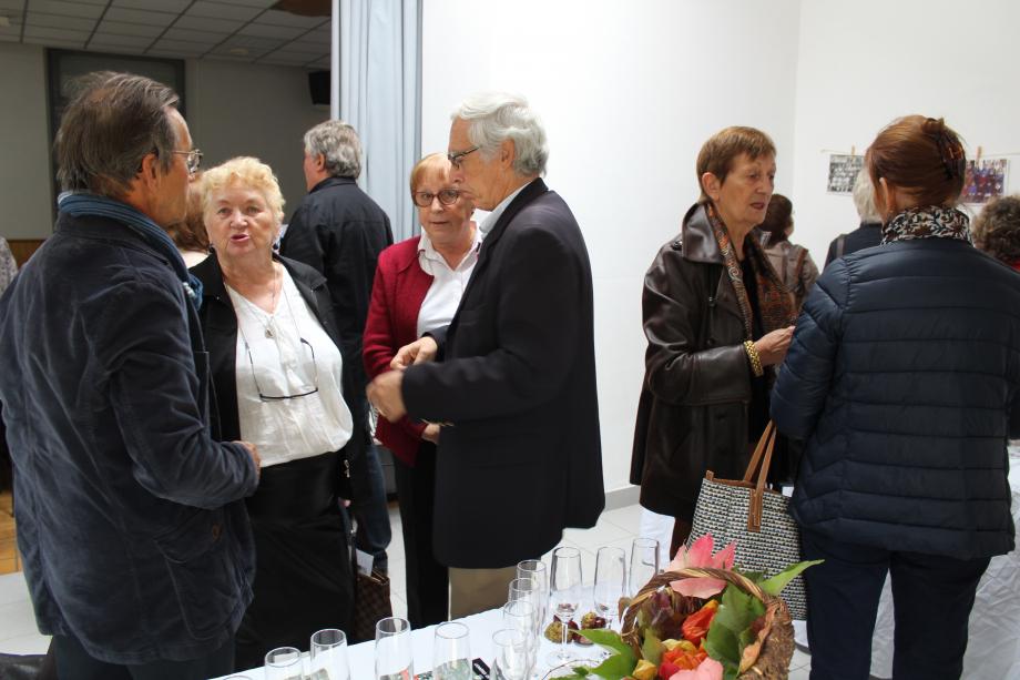 Jacques LACROIX - Christiane COGNET/ADAM - Micheline et Bernard ALLOUIS -  Anne-Marie ADAM - Françoise ROBIN (de dos)
