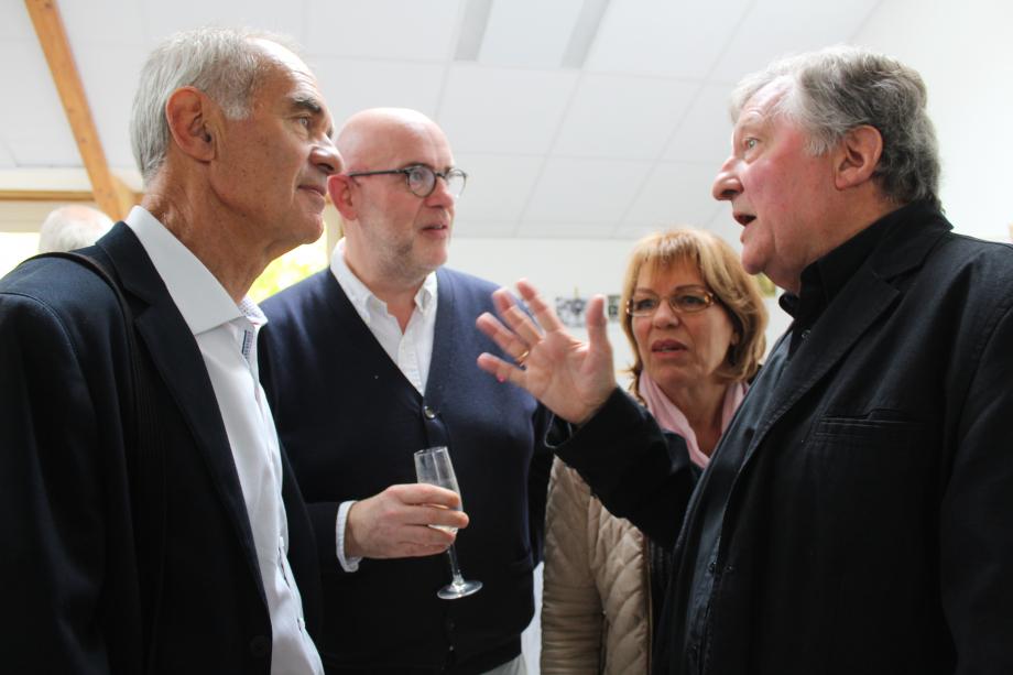 Patrick FOUCHER - Francis GAILLARD - Marie-Jo et Pierre BANRY