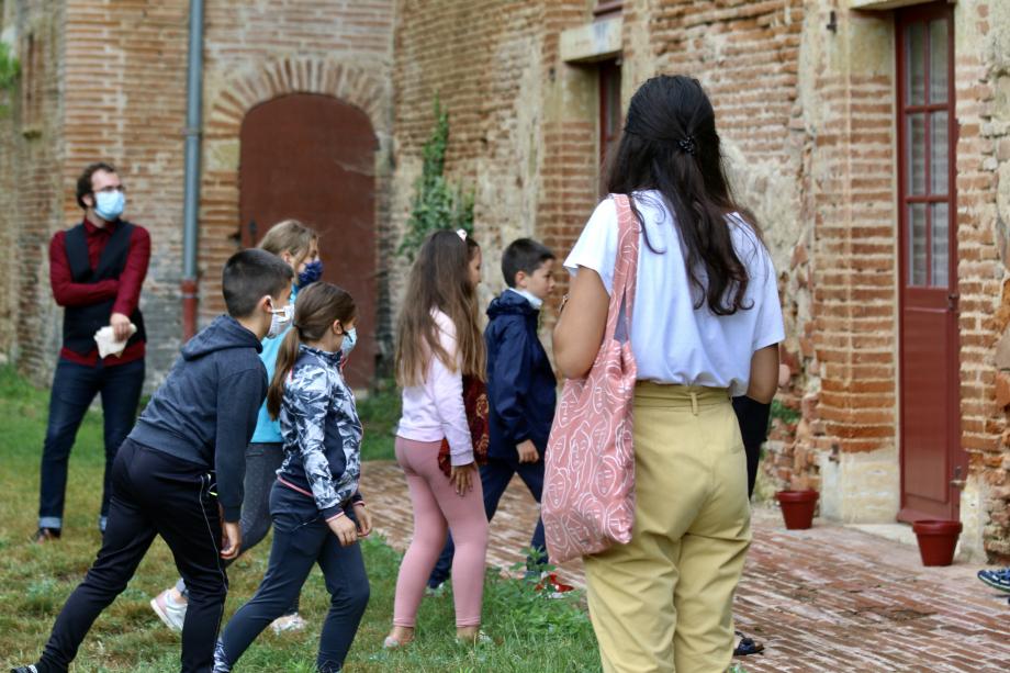 En visite au château de Caumont (Gers)