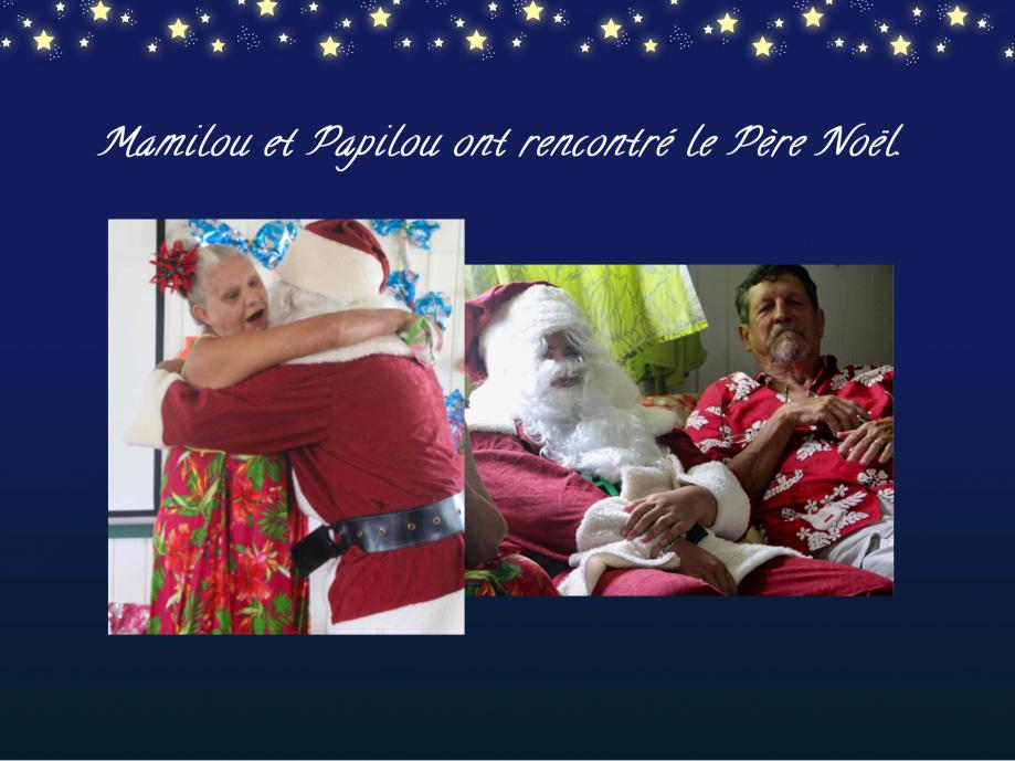 Le Père Noël nous a confié que vous serez gâtés tous et toutes.  Joyeux Noël !
