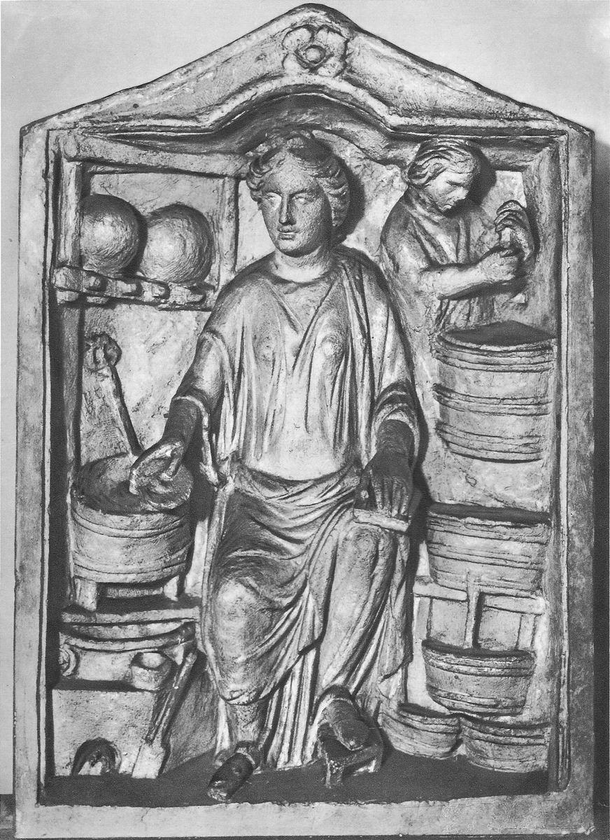 Le commerce au temps des Romains: un pharmacien