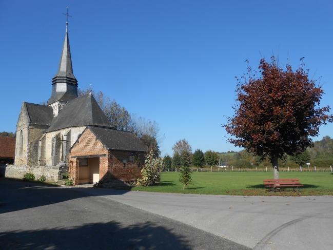 L'église côté est