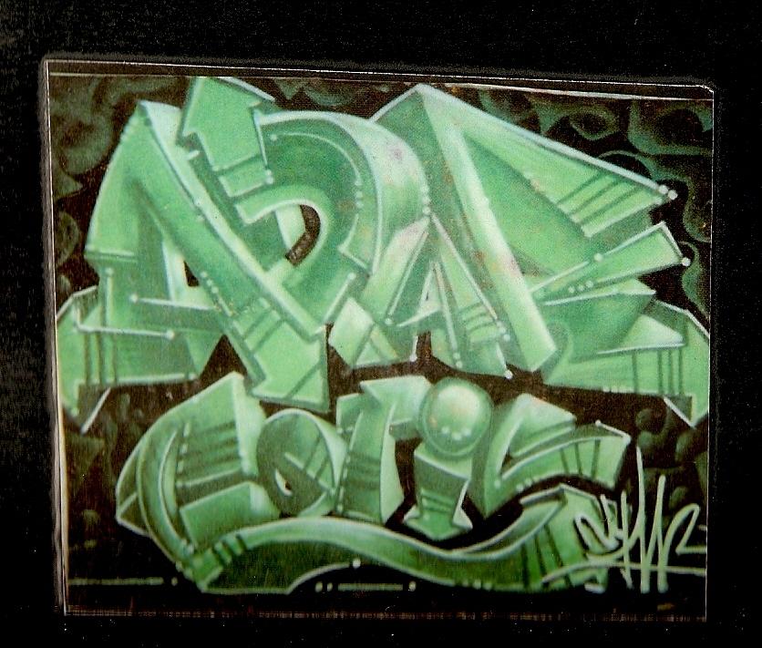 graff sur toile