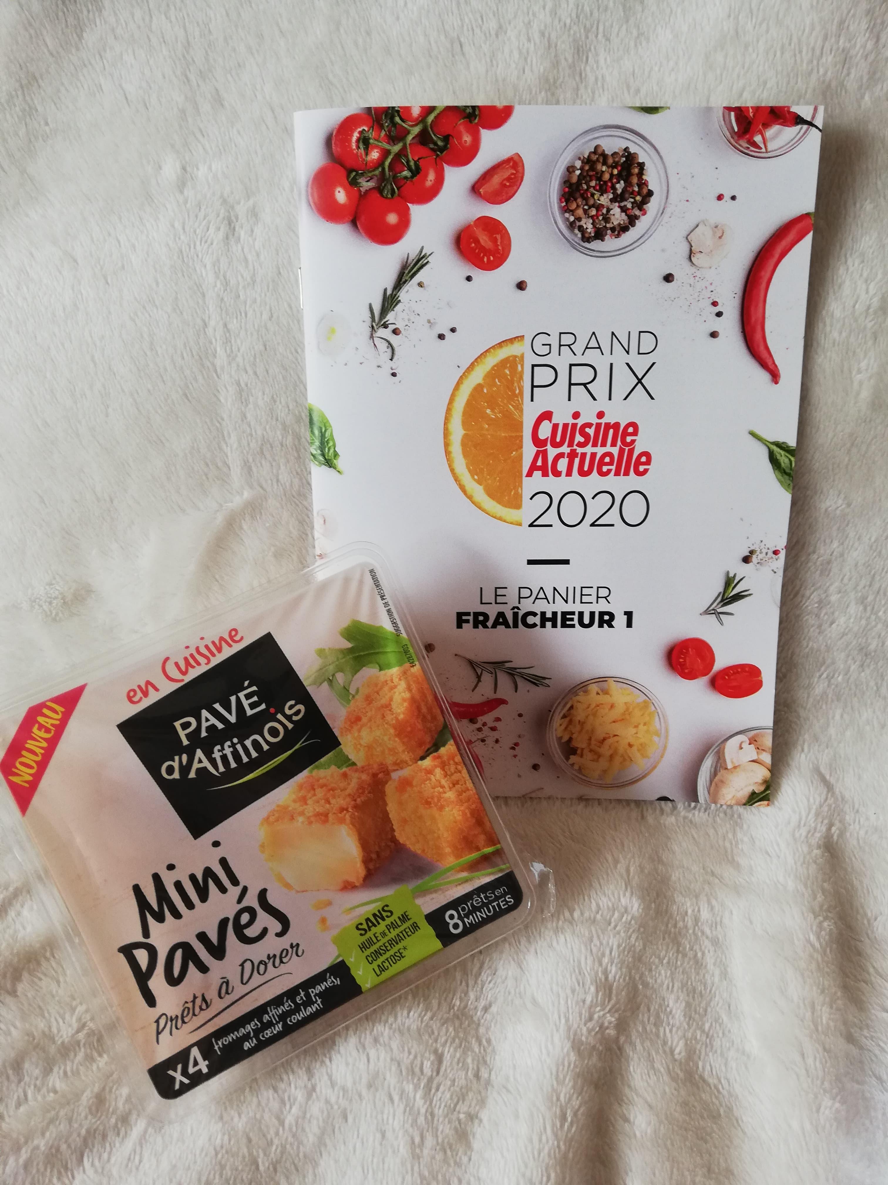 Pavé d' Affinois  Mini pavés Prêts à dorer  (prix moyen conseillé 2,99 €)