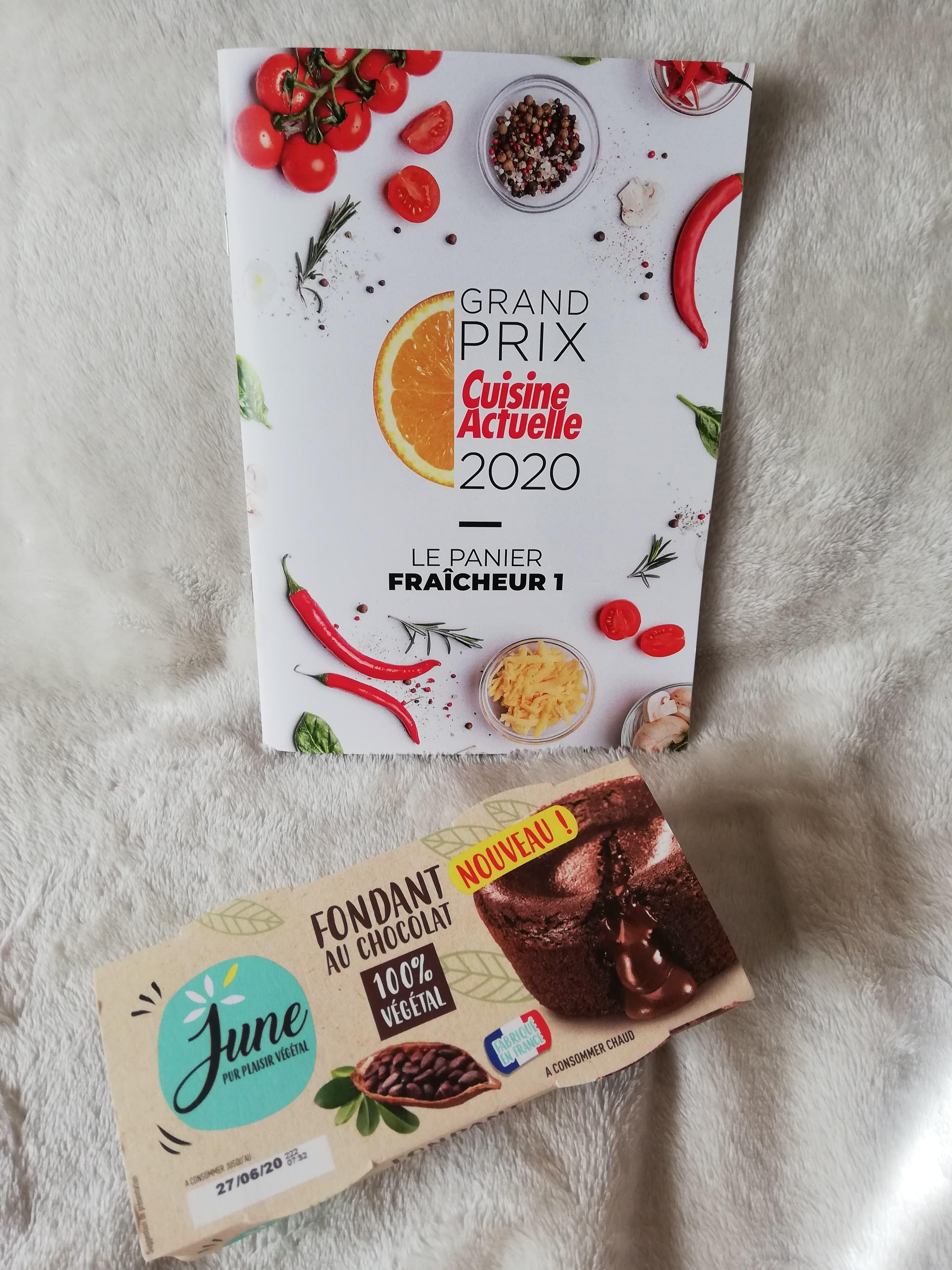 June Fondant au chocolat (prix moyen conseillé 2,49 €)