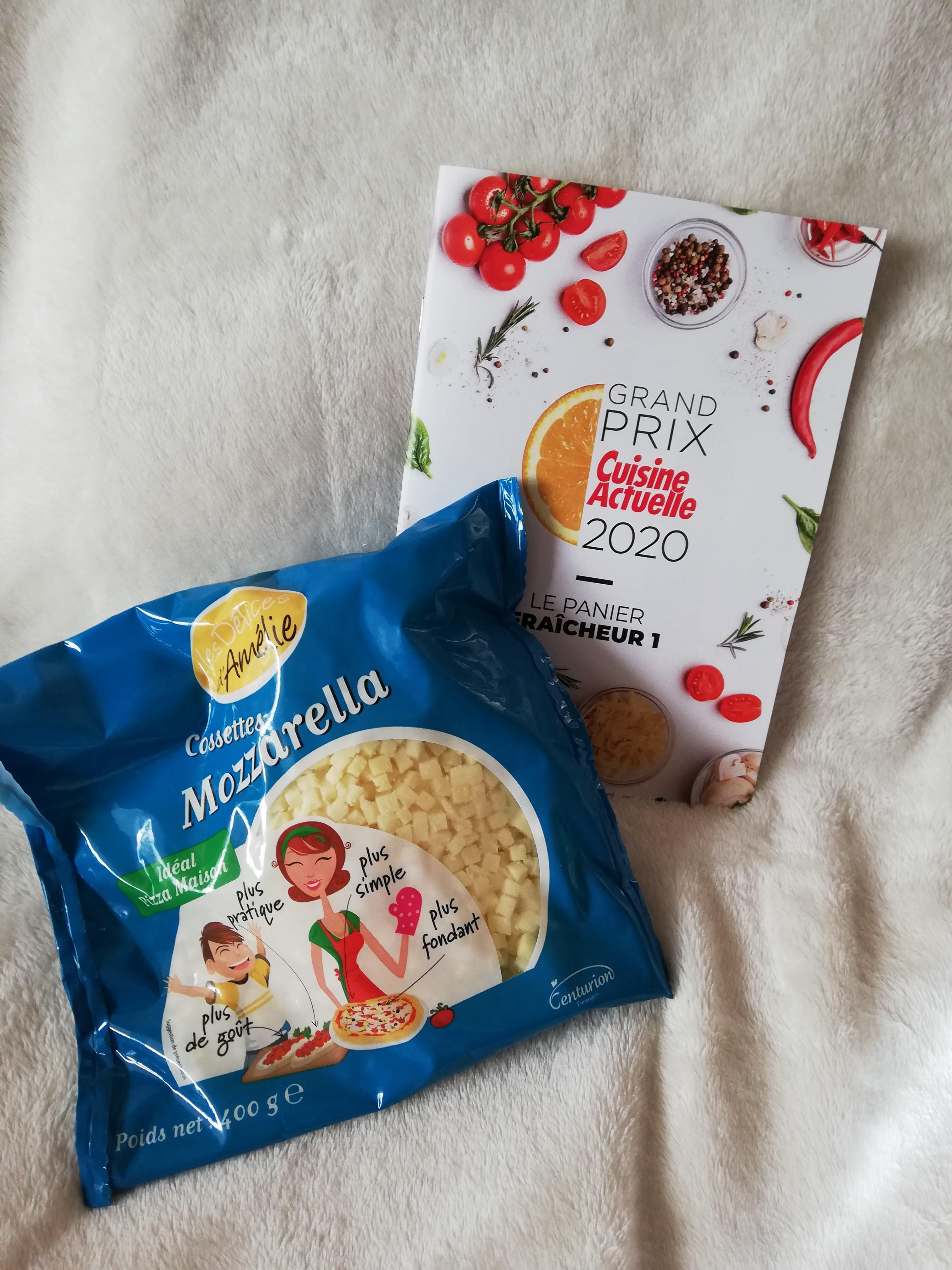 Les Délices d' Amélie Cossettes de Mozzarella (prix moyen conseillé 3,95 €)