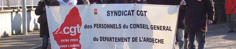 BROUILLON-Syndicat CGT des personnels du Département de l'Ardèche