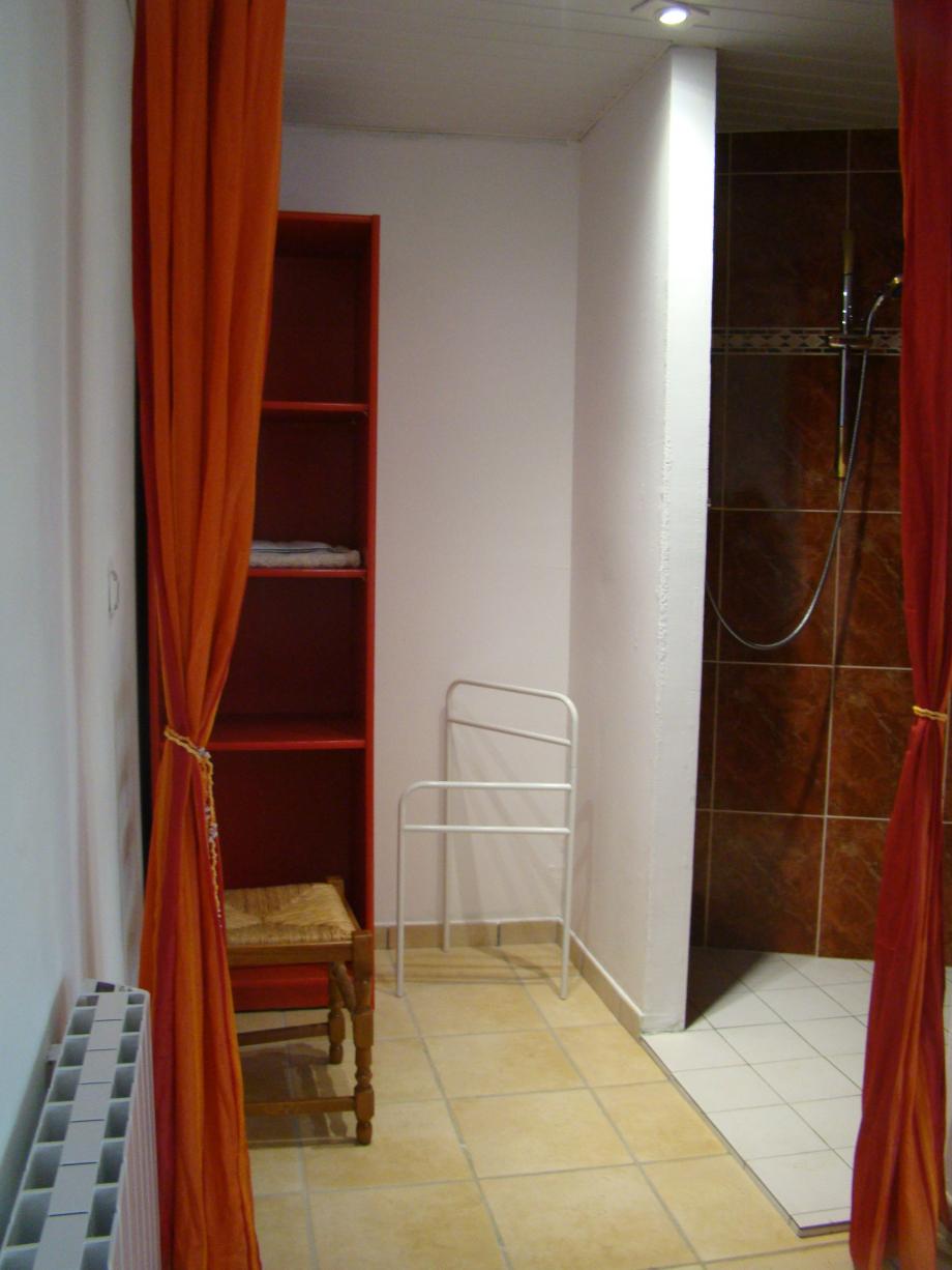 Douche à l'italienne (1ere chambre)