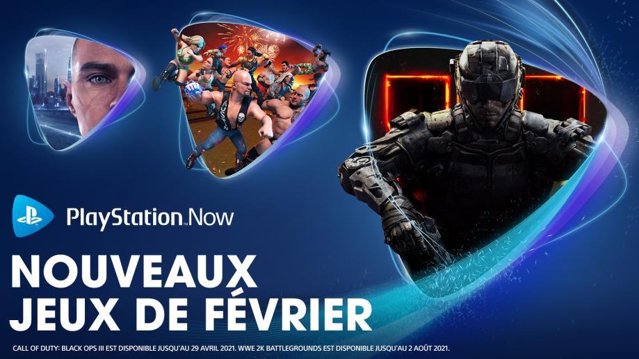 PlayStation Now - Février 2021