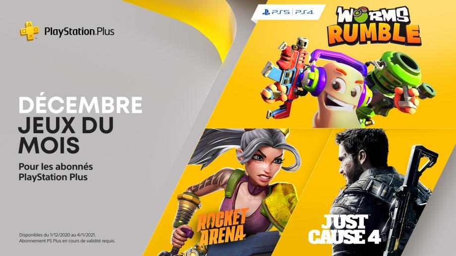 PlayStation Plus - Décembre 2020