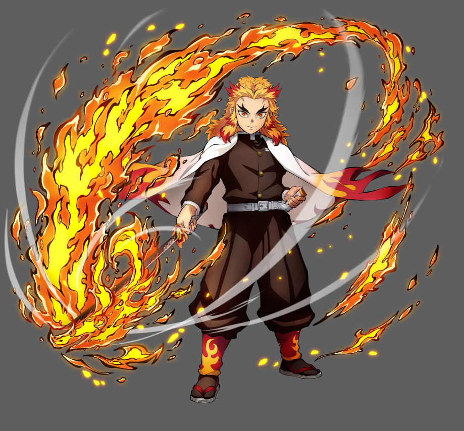 Rengoku Character Art-36360360cc109e8ee7f1