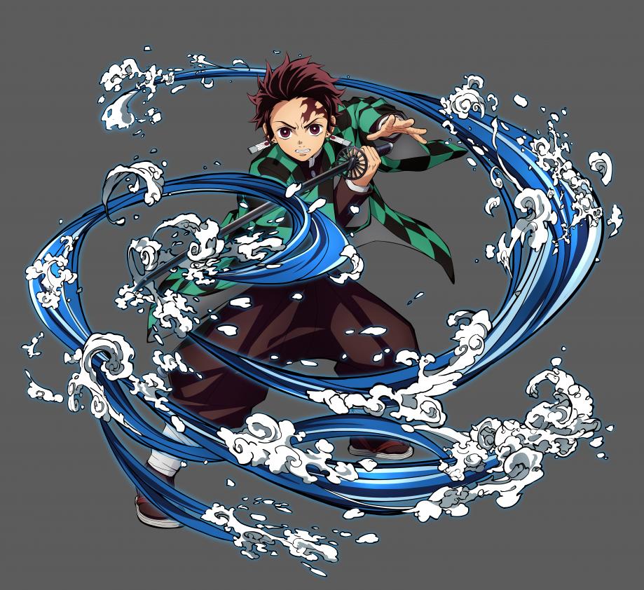 Tanjiro Character Art-36360360cc10a0b1a120