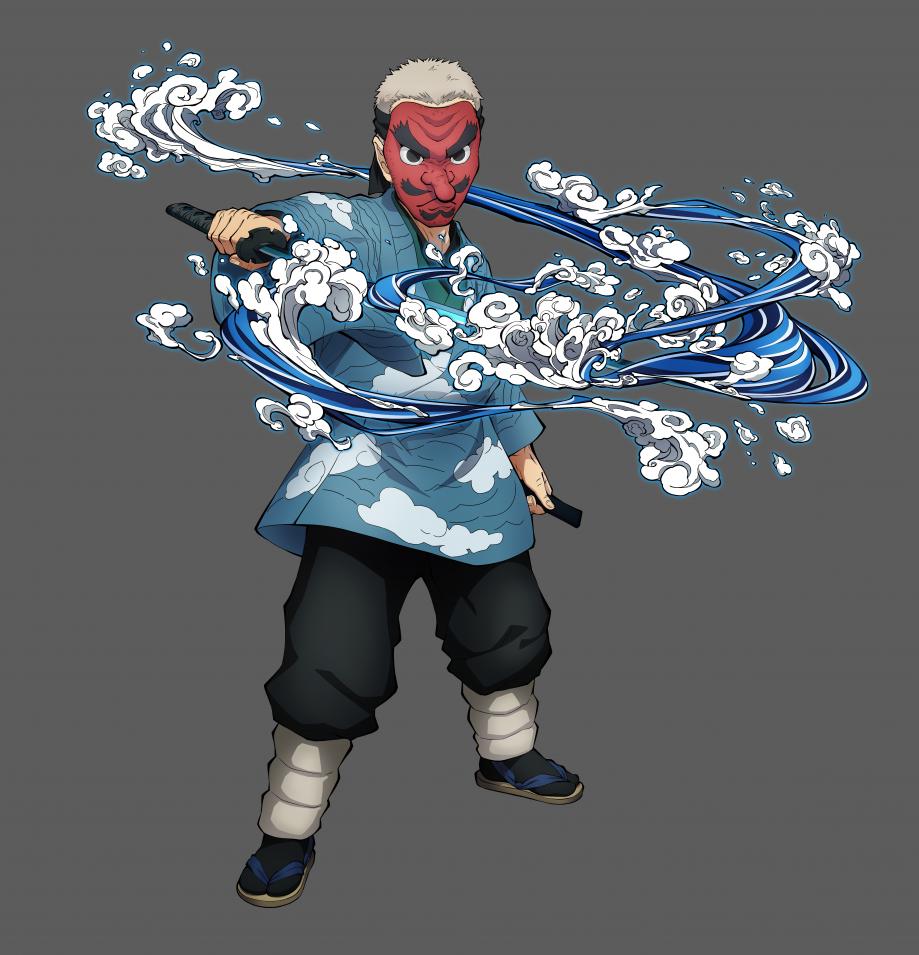 Urokodaki Character Art-36360360cc10a1431e31