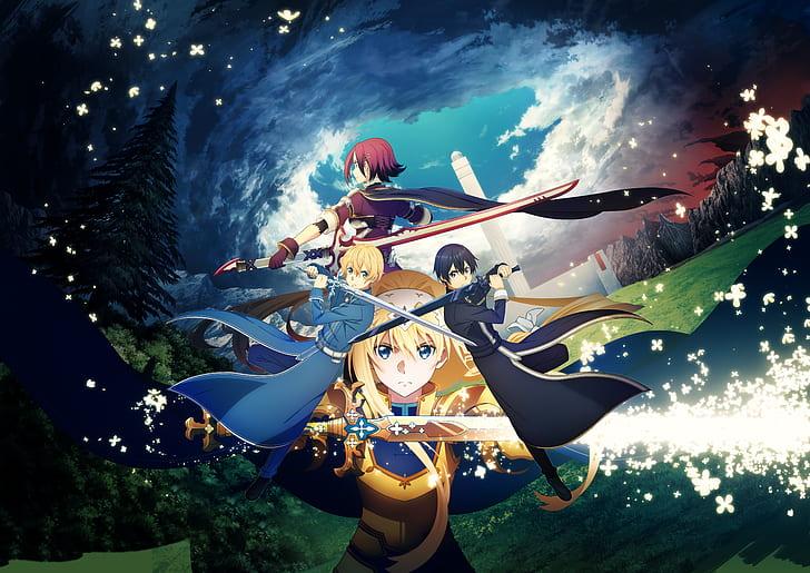 video-game-sword-art-online-alicization-lycoris-alice-zuberg-eugeo-sword-art-online-kazuto-kirigaya-hd-wallpaper-preview