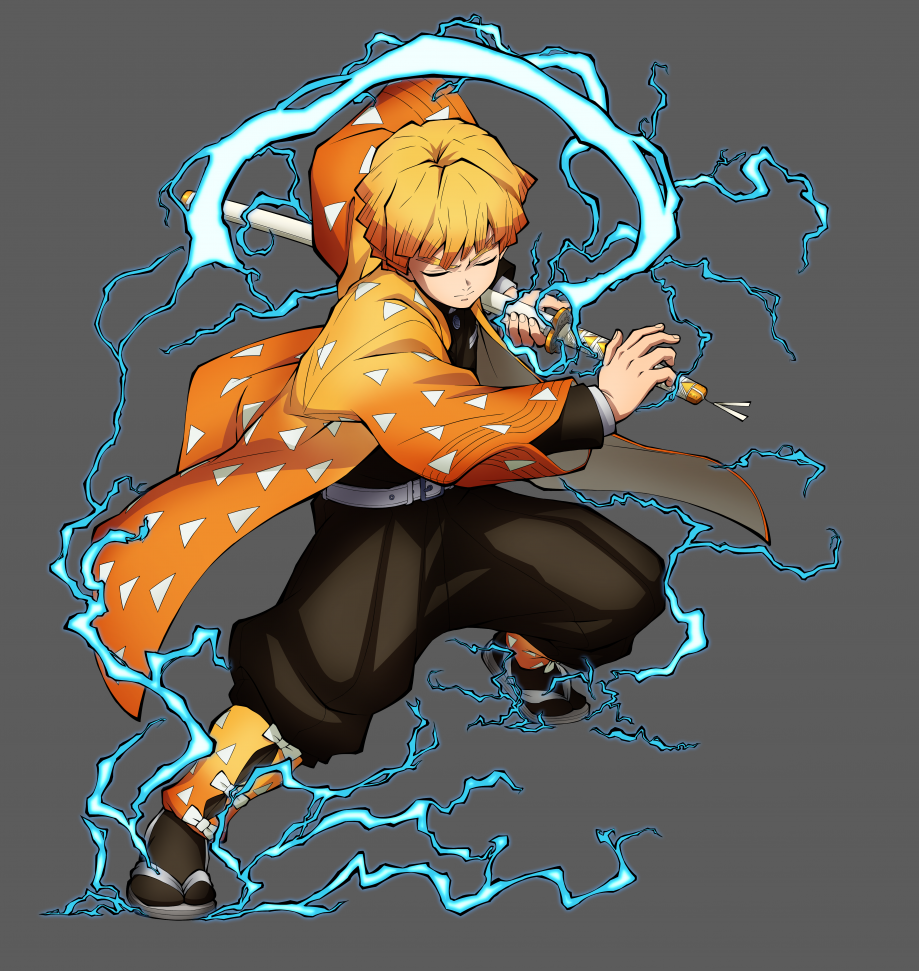 Zenitsu Character Art-36360360cc10a1b9f0b7