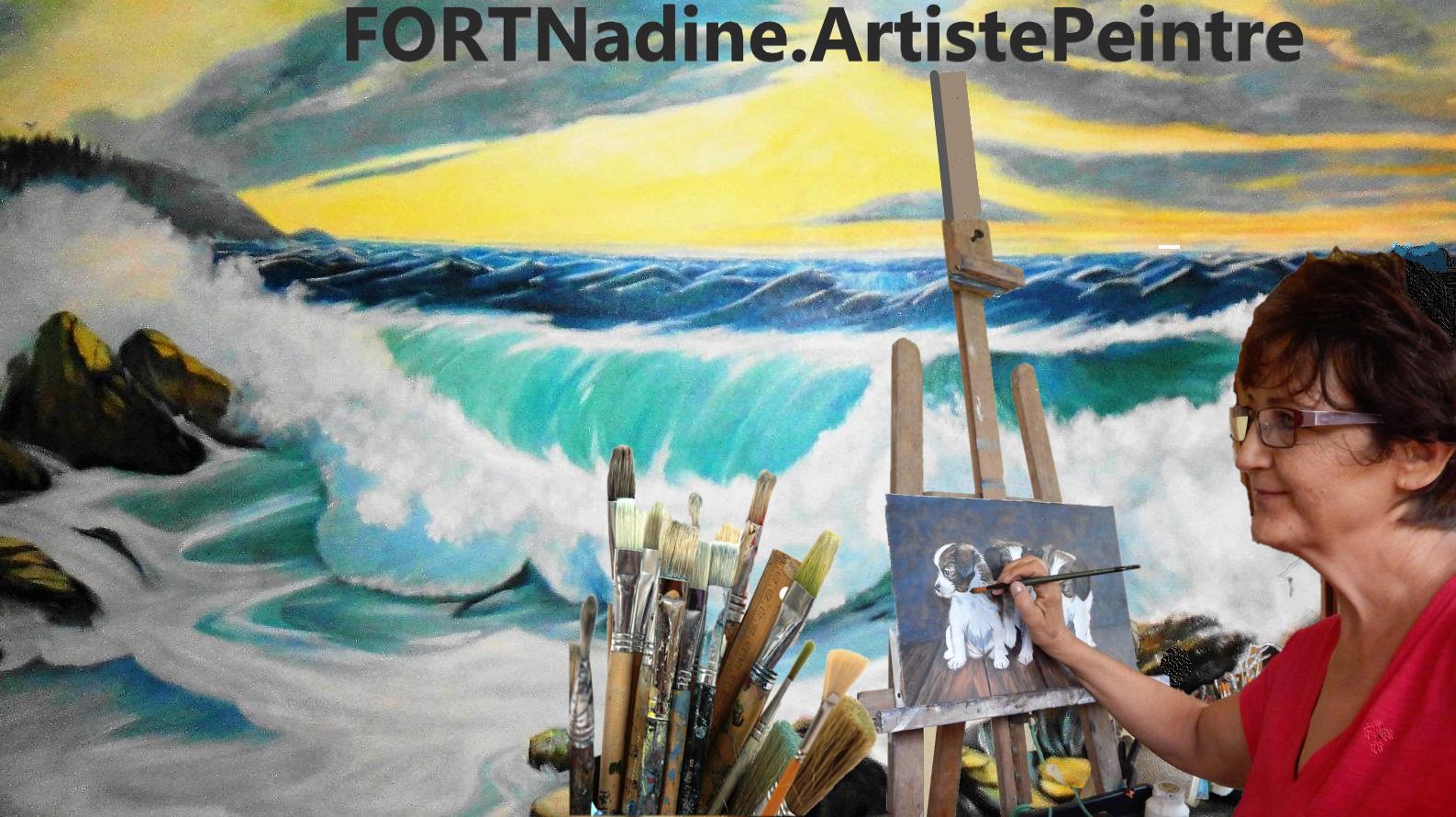 FORTNadineArtiste Peintre
