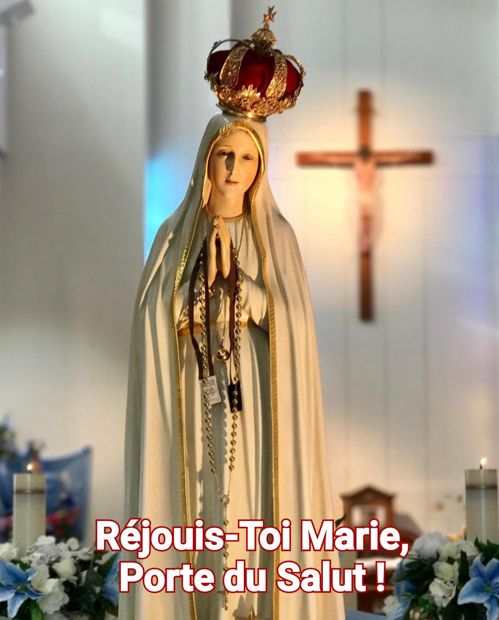 10 - Réjouis-toi Marie, Porte du salut ! - Jésus par Marie