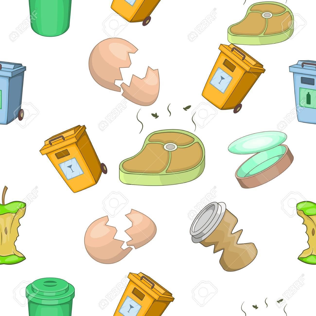 70693790-modèle-de-déchets-style-de-dessin-animé
