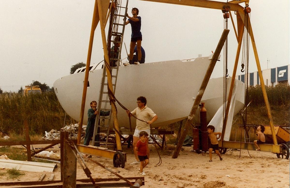sur chantier Garcia 1983