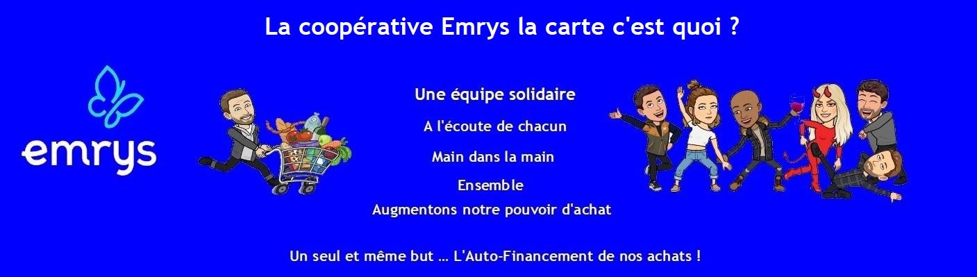La coopérative Emrys la carte c'est quoi ?