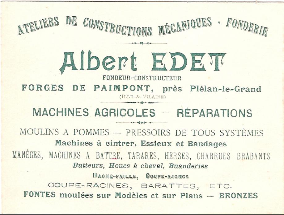 Atelier Edet - 1