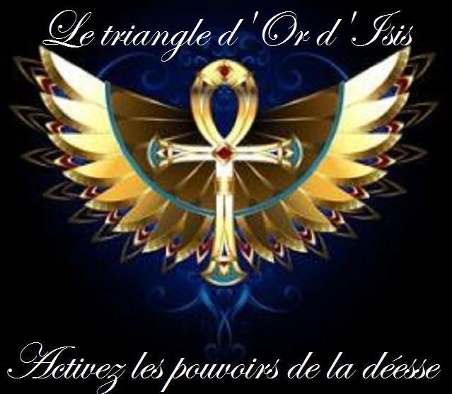 initiation triangle d\\\'or d\\\'isis à distance nicole pierret