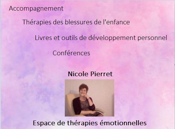 présentation nicole pierret espace de thérapies émotionnelles