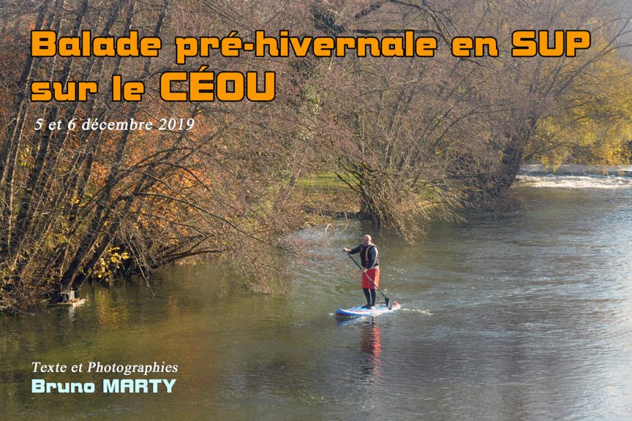 Photo Titre reportage SUP le Céou