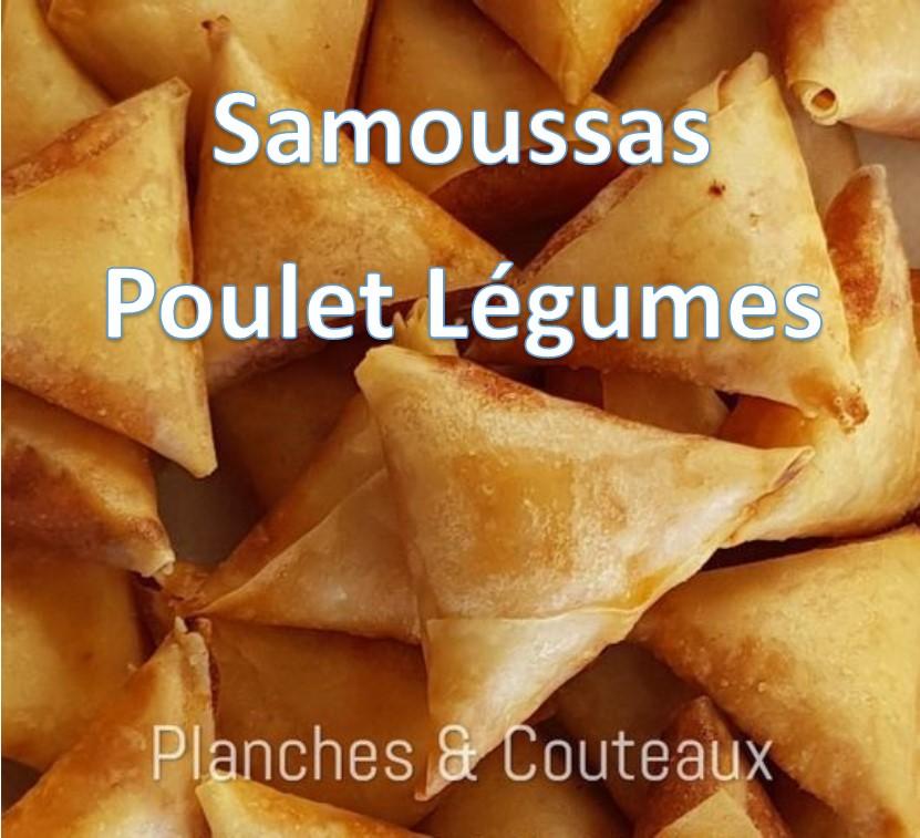 vignette Samoussa jambon Legumes