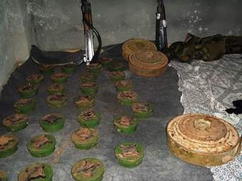 Antipersonnel and anti-tank mines