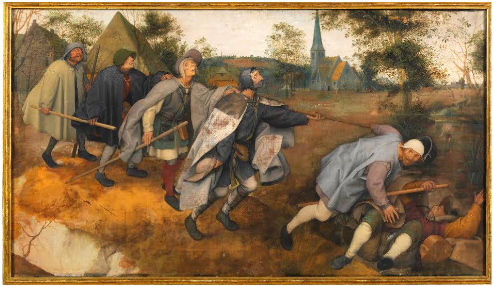 Blind Leading the Blind - Peter Breughel the Elder (a Belgian)