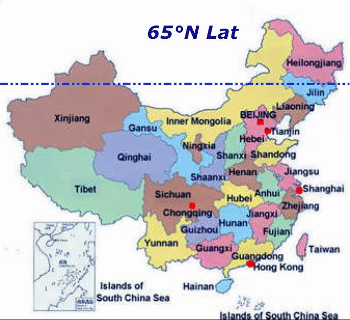 China provinces c Lat