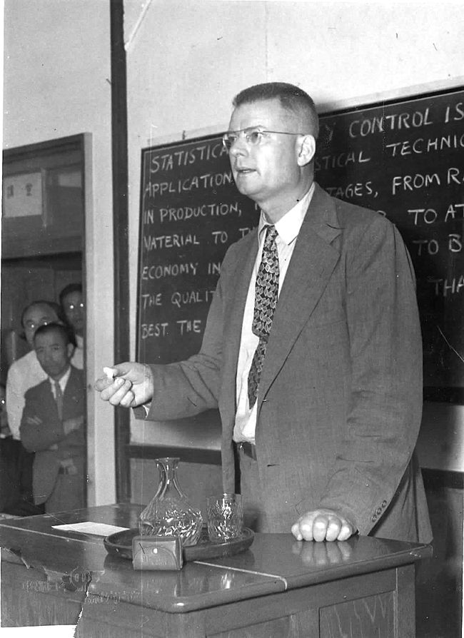 Deming teaching inJapan in the 1950\\\'s