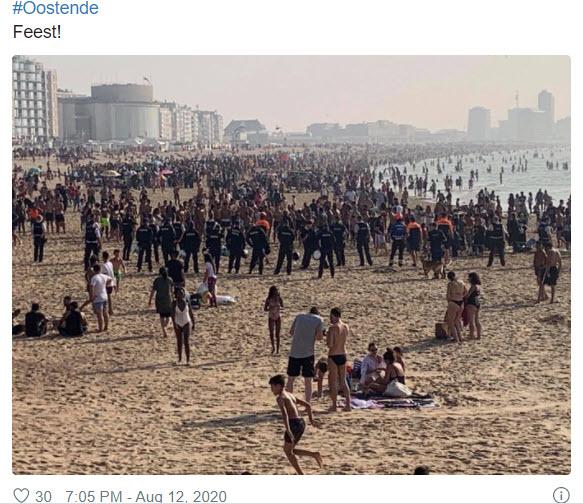 Feest à Ostende - 13 août
