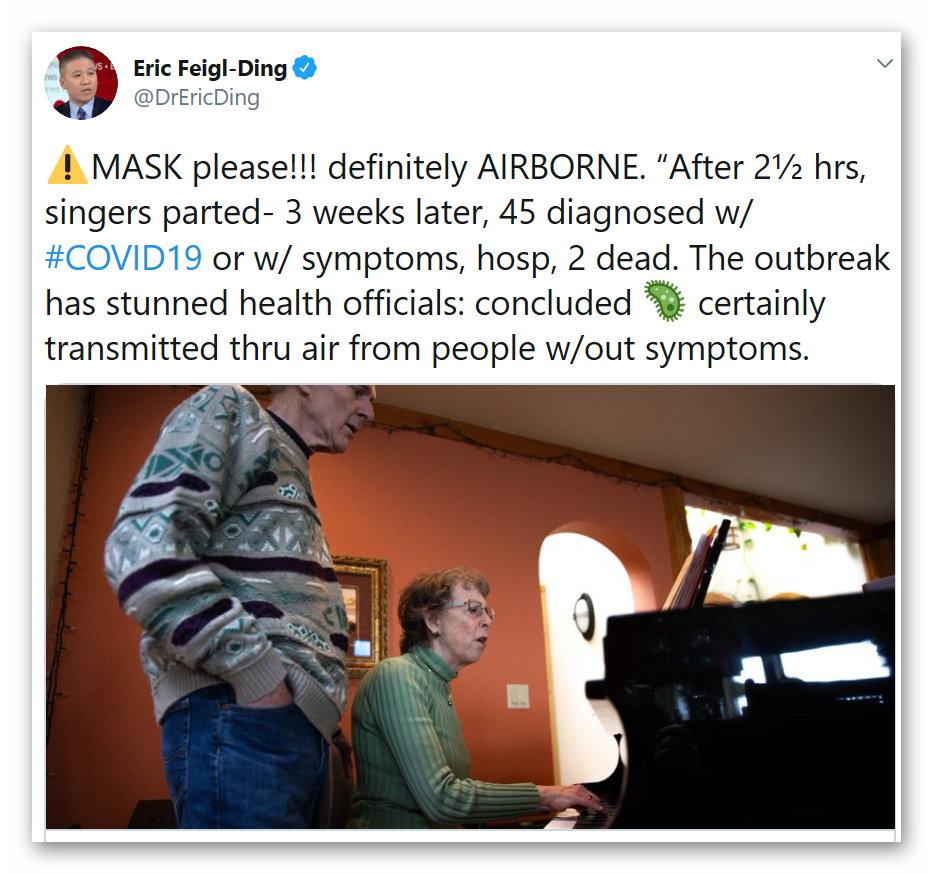 Masks please - 1 April, 2020