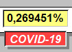 Percent value - 13 août