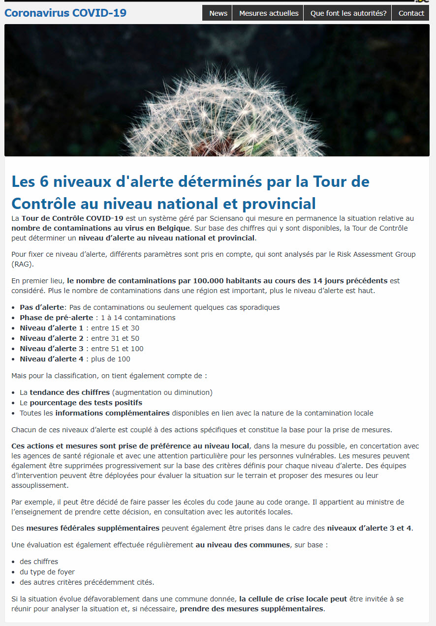 Tour de Contrôle - 10 septembre