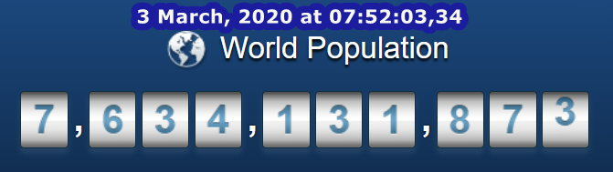 World Pop at 07h52m03s