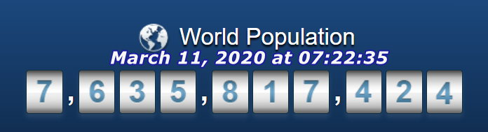 World Pop March 11 at 7h22m33s