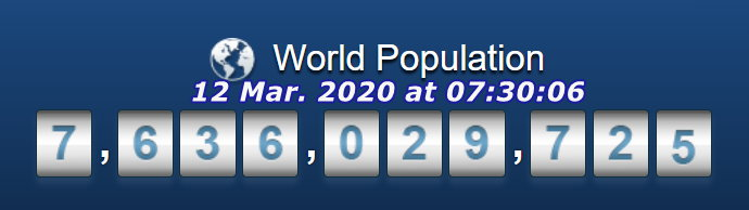 World Pop - March 12, 2020 at 07h30m06s