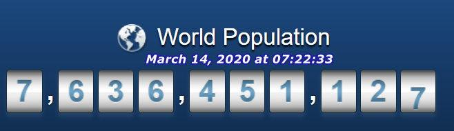 World Pop March 14